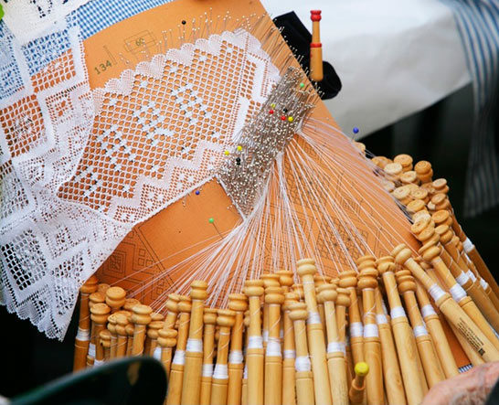 Bobbin Lace-Making Meetup