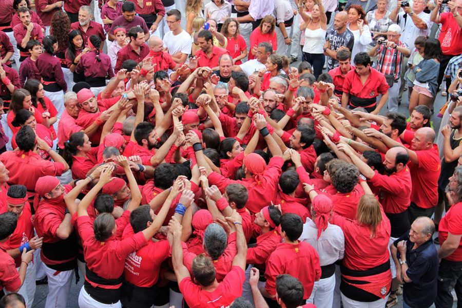 "Castellers Alt Maresme ""the strawberries"""
