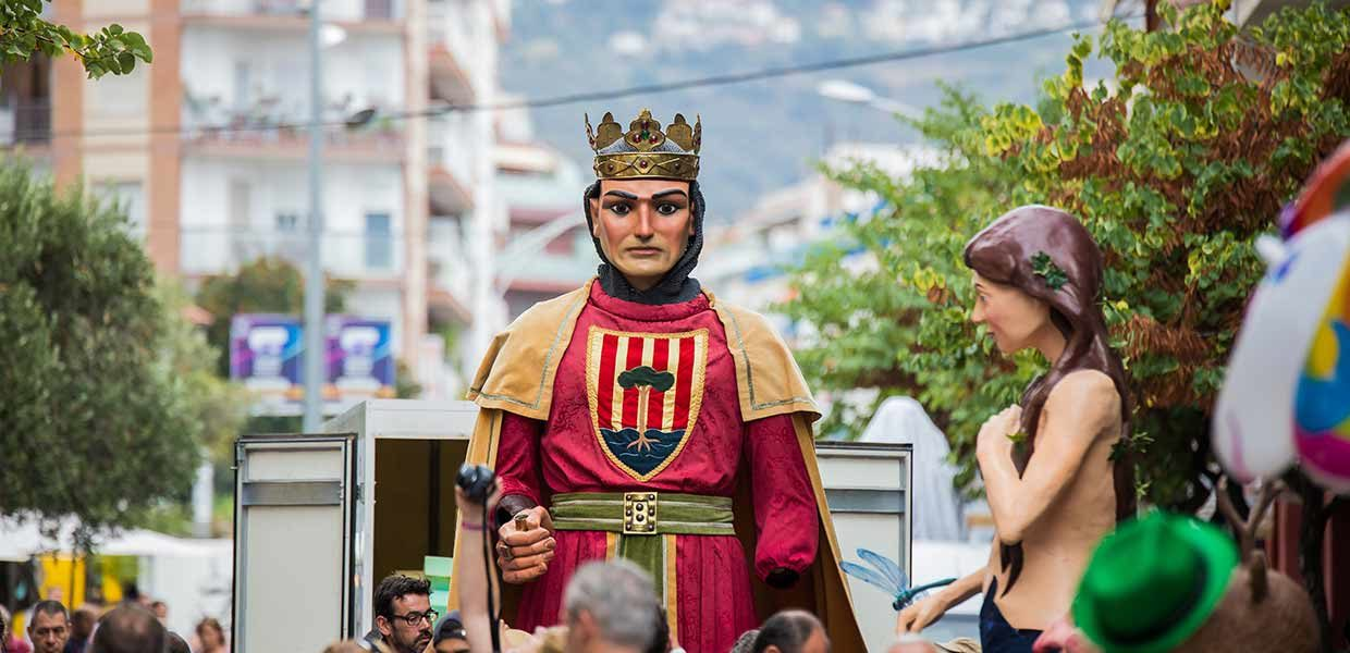 Gegants de Pineda de Mar